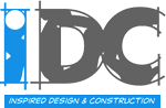 IDC - Inspired Design and Construction Logo
